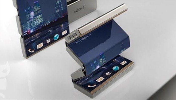 Samsung, Samsung Galaxy X, écran pliable
